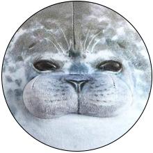 Soft Fat Pillow Stuffed Cotton Animal Seal Plush Toy Throw Pillows Cuddly Gift