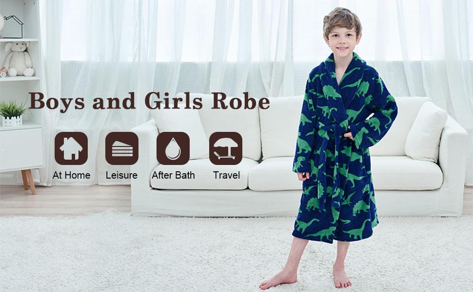 kids robes for boys