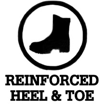 Reinforced Heel and Toe