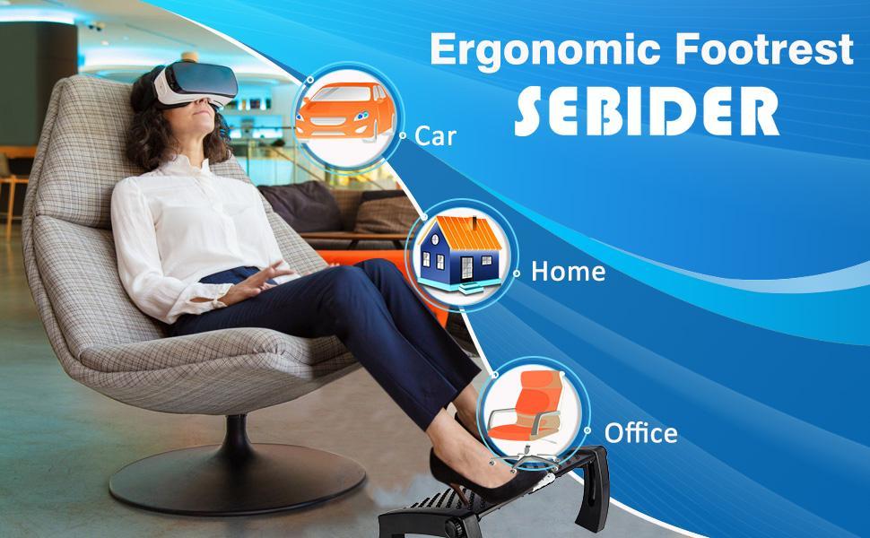SEBIDER Ergonomic Footrest