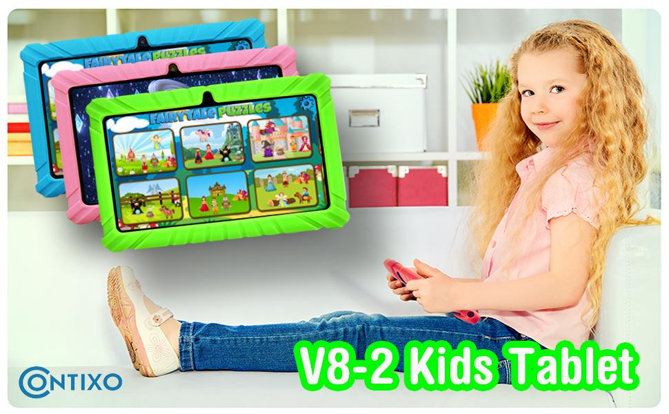 V8-2 Tablet Green