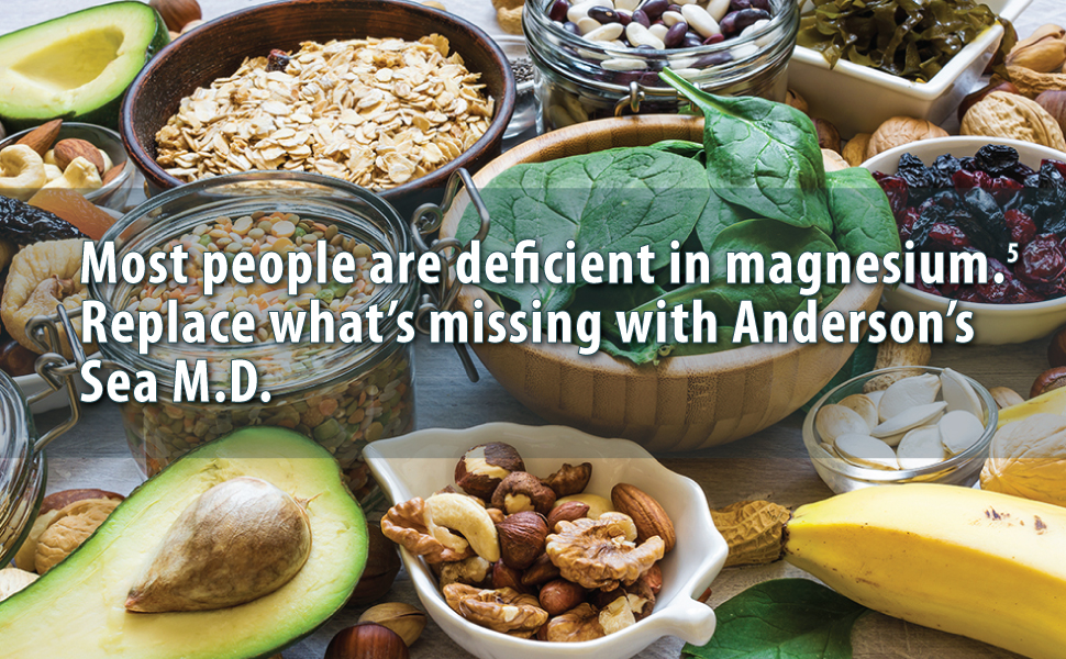 most people are deficient in magnesium anderson sea m.d.