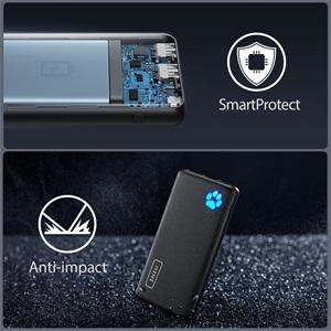 The thinnest 10000mAh portable charger
