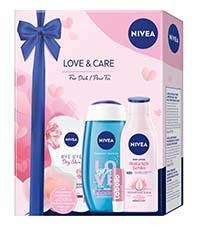 NIVEA Love and Care Geschenkset