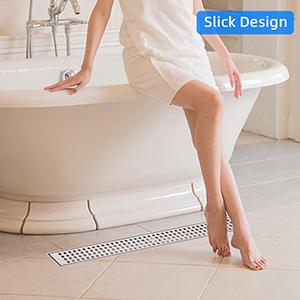 linear shower drain infinity shower drain garage floor drain drain shower shower floor drain
