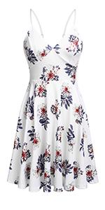 summer v neck sexy dress