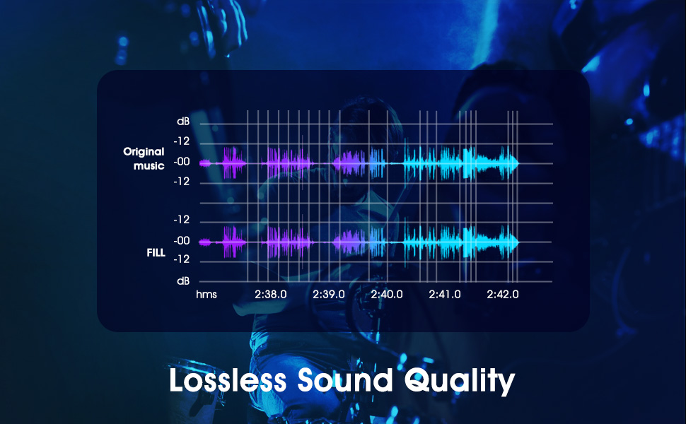 LOSSLESS SOUND QUALITY