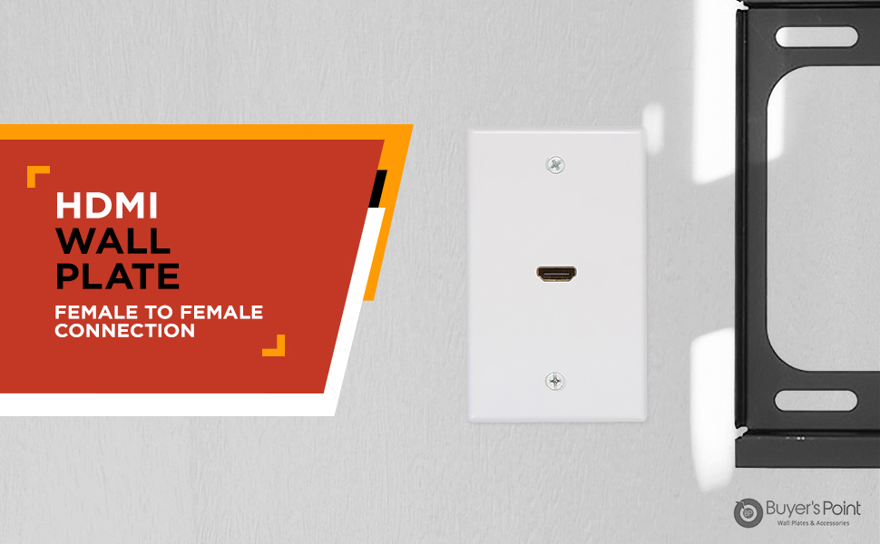 hdmi wall plate tool free new design buyers point