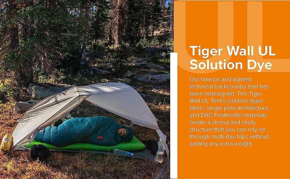 Big Agnes Tiger Wall Solution Dye