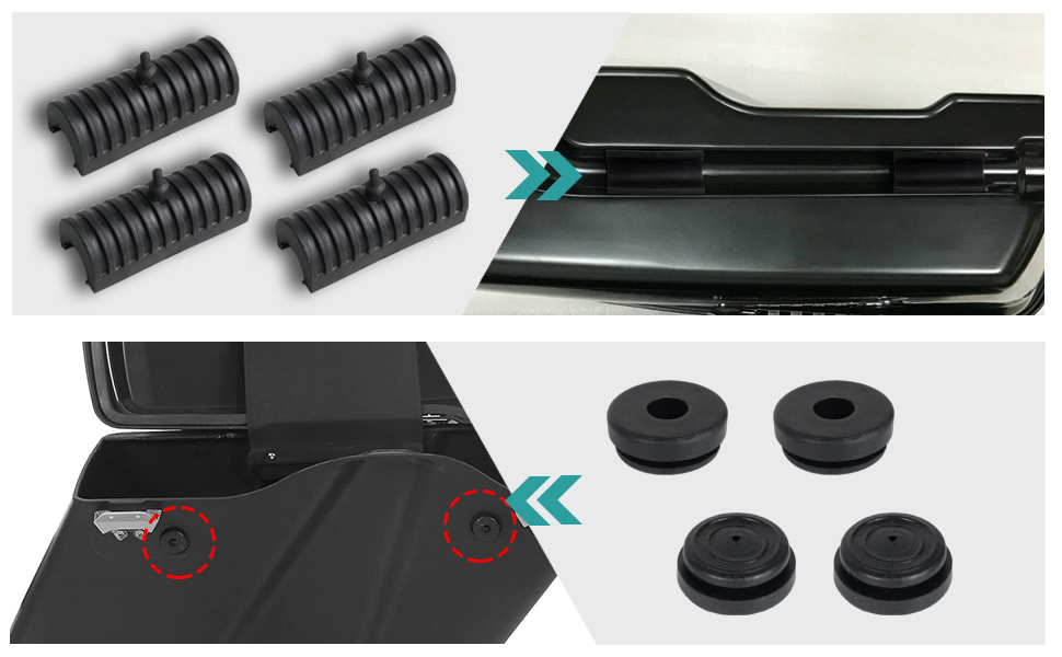 Mounts Support Cushion for Touring model 1996-2013