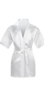 white robe for girls