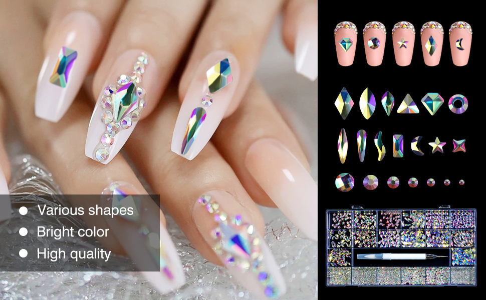 diamonds for nails rhinestone for nails