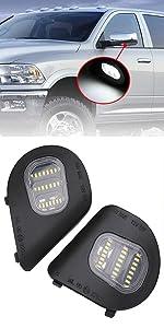 LED Side Mirror Puddle Lights