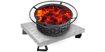 fire pad