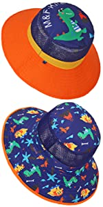 Baby Reversible Sun Hats Breathable