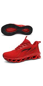 red women fashion sneakers