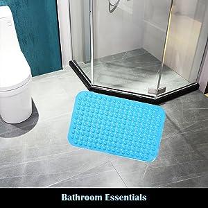 Anti-slip bath and bath mats