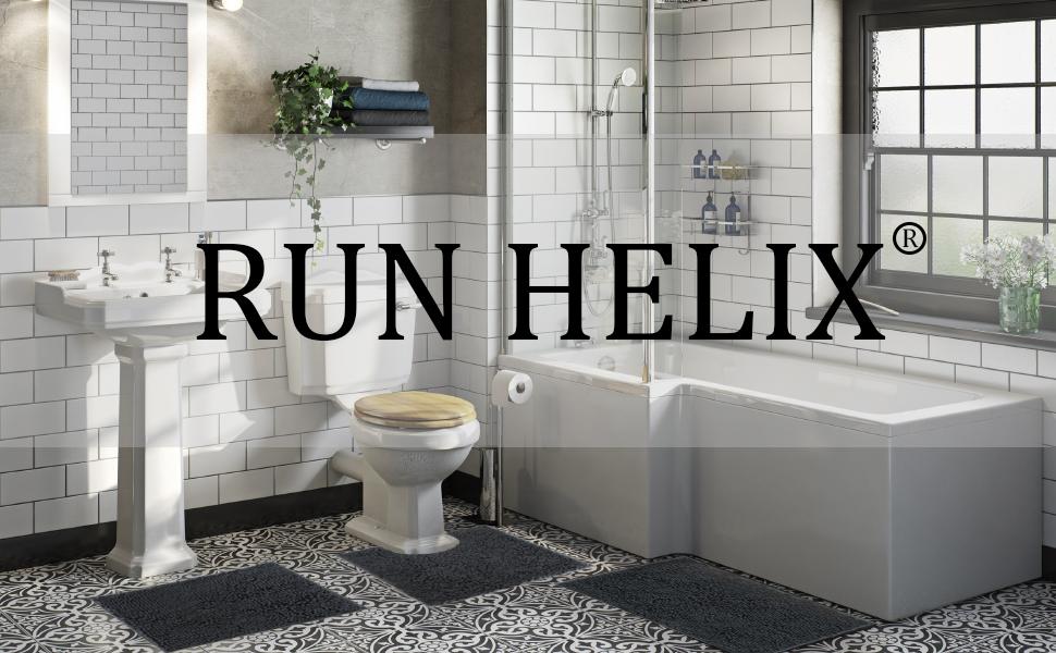 Bathroom rugs set 3 piece chenille