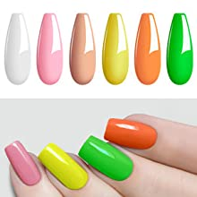 spring color nail polish