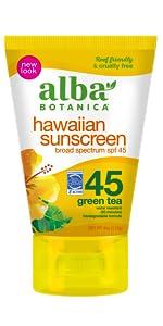 hawaiian sunscreen spf 45
