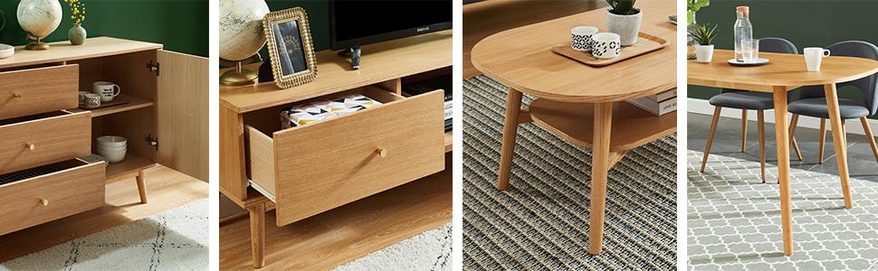 meubles bois Marcel