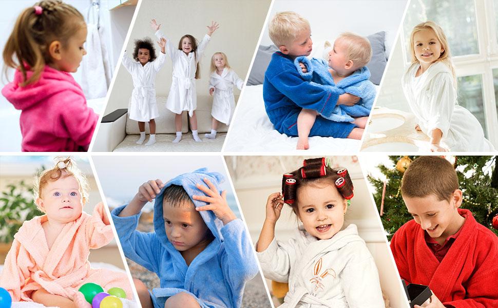 bathrobe for kids