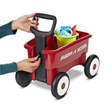 Radio Flyer unlock handle red wagon