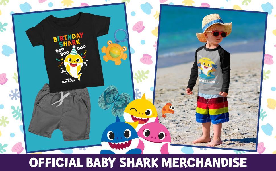 Baby Shark Family gifts birthday shark shirts sister shark brother shark mommy shark daddy shark