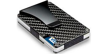 tarjetero tarjeteros cartera carteras tarjeta de credito hombre y mujer para rfid metalico carbono