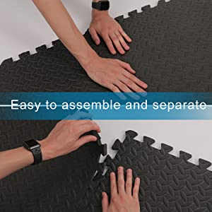 Easy to Assemble and Separate