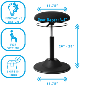 tall office chair for standing desk balance stands adjustable saddle stool desk chair accessories