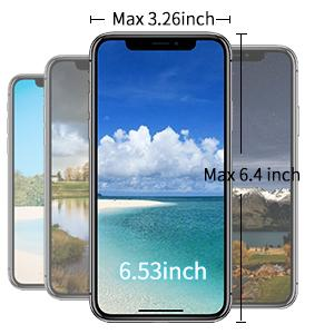 Maximum Supported Phone Size