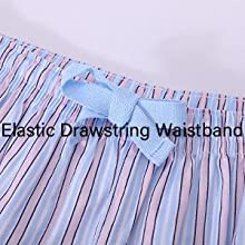 elastic drawstring waistband