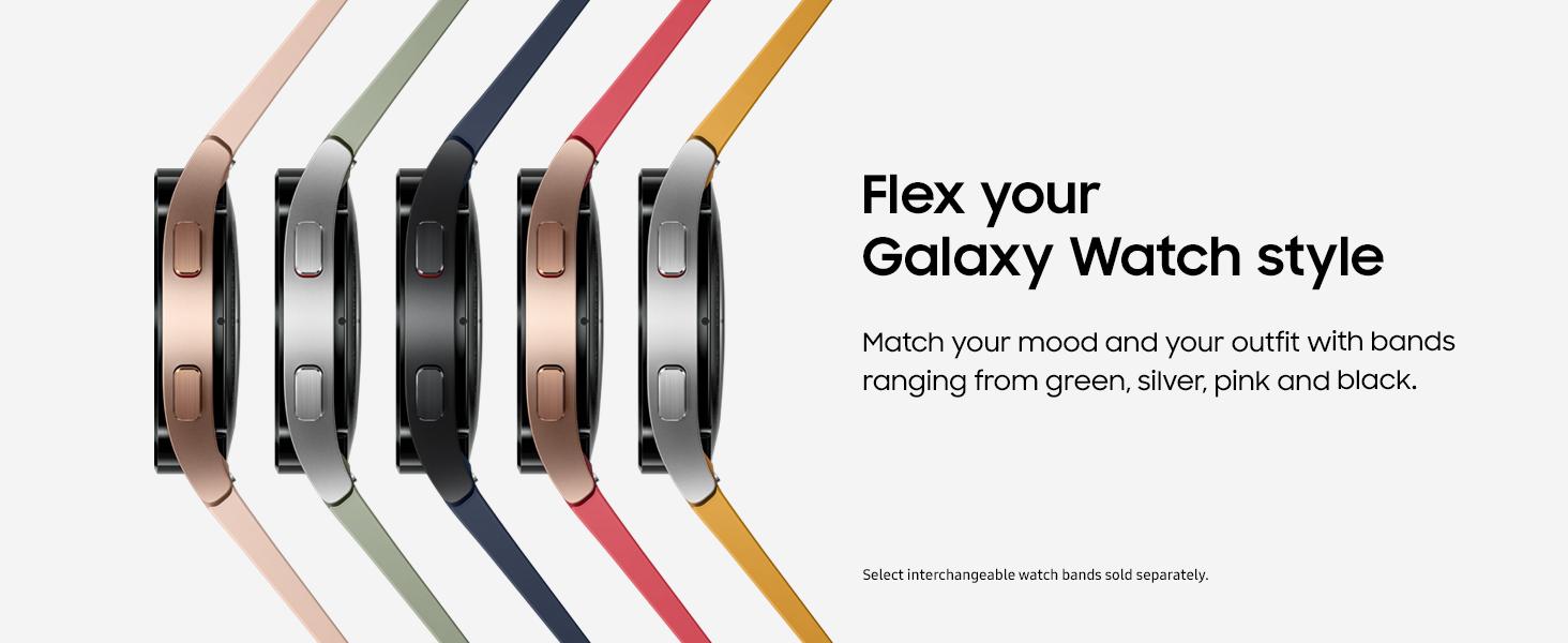 Galaxy Watch4 Band Options