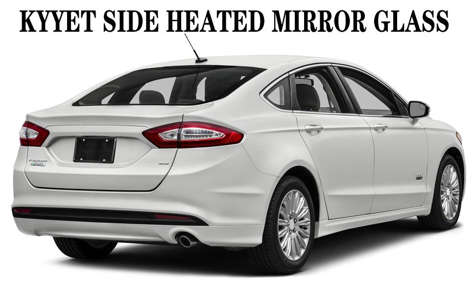 2013 2014 2015 2016 2017 2018 2019 2020 Fusion Energi Titanium  S Hybrid Sedan mirror glass
