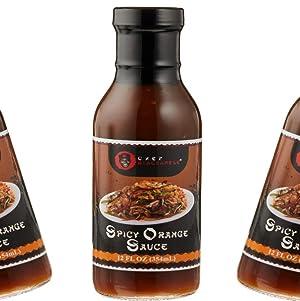 Spicy Orange Sauce