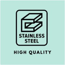 made of top grade high quality stainless steel