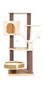 Cat Tree Scratching Post Tower Condo