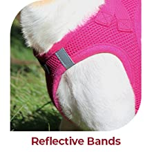 pet harnesses for small dogs, no pull, with handle, with handle, reflective dog vest, adjustable