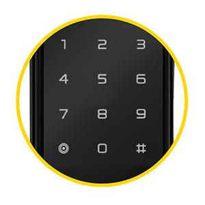 Senha da Fechadura Digital Biométrica YDF40