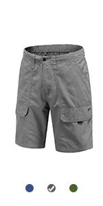 100% Cotton Cargo shorts