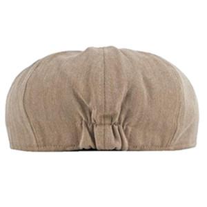 Newsboy cap for men cotton