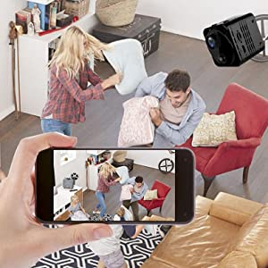 Flashandfocus.com cb266b53-4243-4254-8ec9-aa459e3250cd.__CR0,56,790,790_PT0_SX300_V1___ 4K HD Spy Camera Wireless Hidden Camera WiFi Long Battery Life Mini Real-time Remote View Mini Convert Camera with Phone…