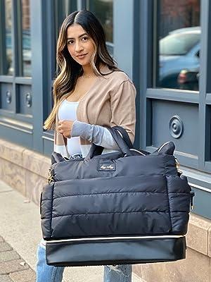itzy ritzy, weekender bag, hospital bag, lightweight diaper bag