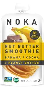 Banana Cocoa Peanut Butter