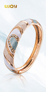 grey white bangle bracele-88A26