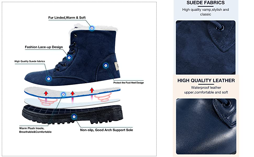winter boots for women snow boots for women ankle boots womens boots shoes for womens