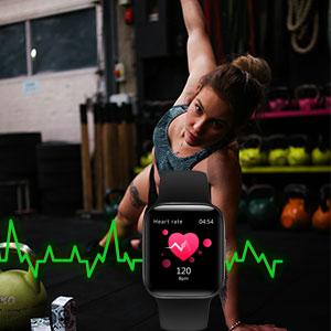 24 Hours Heart Rate Monitor Watch