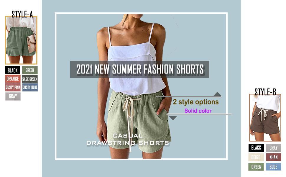 summer short for women