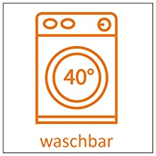 Lavable à 40 °C.